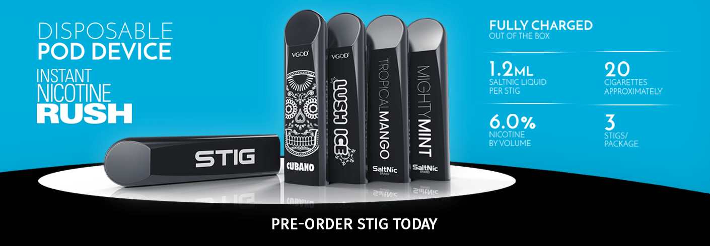 STIG Disposable Nicotine Pods