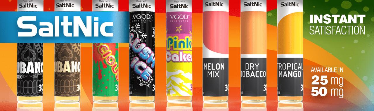 SaltNic Ejuices