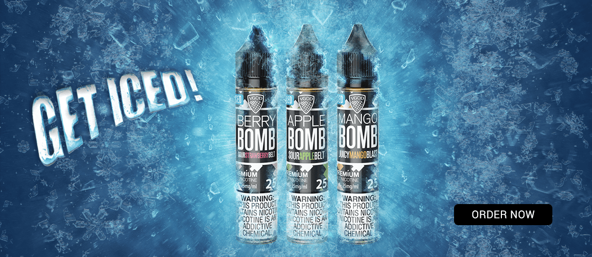 Get Iced! New VGOD Iced SaltNic Ejuices!