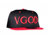 VGOD SnapBack, Black on Red