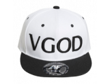 VGOD SnapBack, White on Black