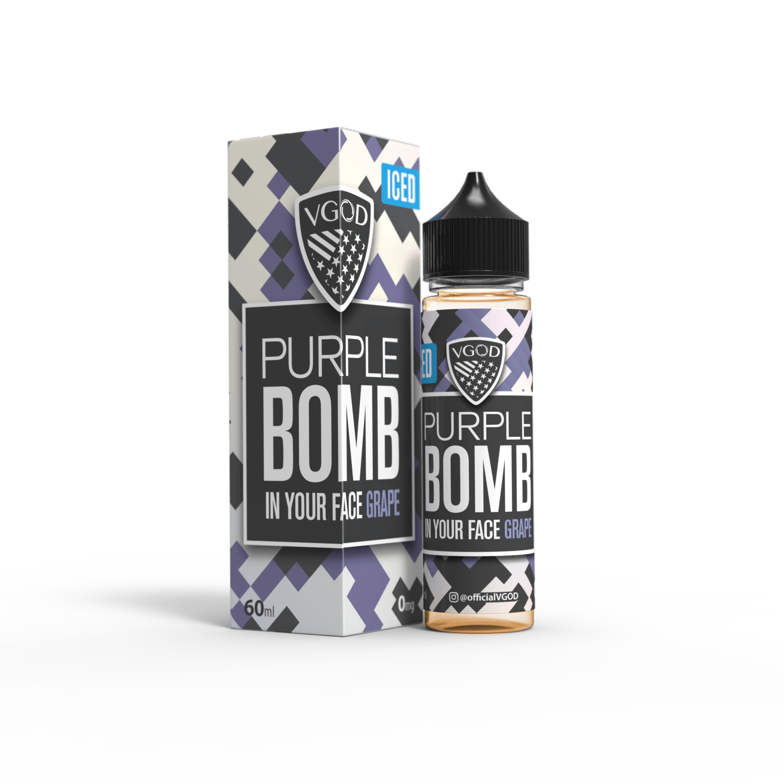 Wholesale VGOD e-juices - Cubano Silver, Apple Berry Bomb
